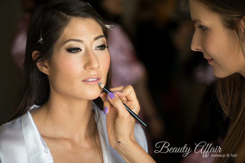 highlight and contouring bridal makeup glowing by Agne Skaringa Beauty Affair eyeliner