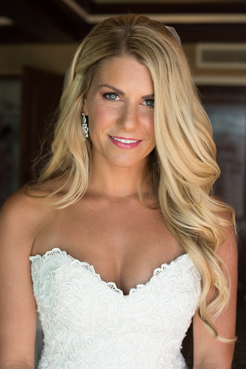 Bridal bronze makeup blonde blue eyes pink lips Beauty Affair Los Angeles makeup and hair bride.jpg