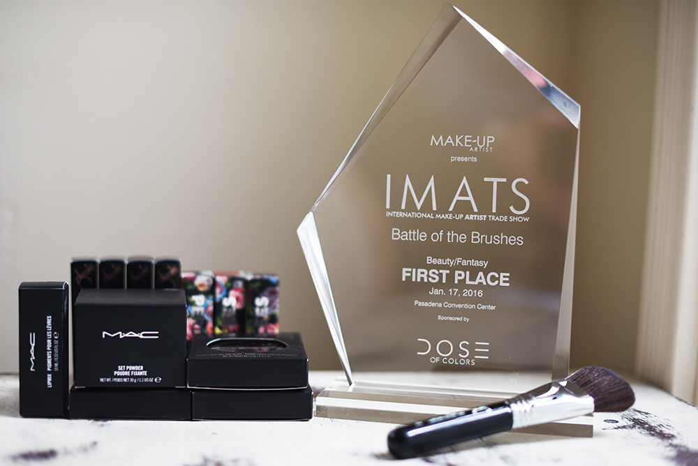 Imats 2016 battle of the brushes winner Agne Skaringa.jpg