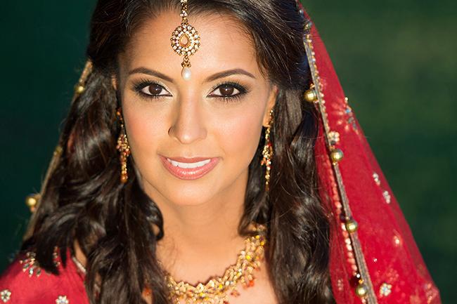 The Big Affair Photography Indian bridal makeup brown eyes Hollywood Bridal makeup hairstyle Los Angeles.jpg