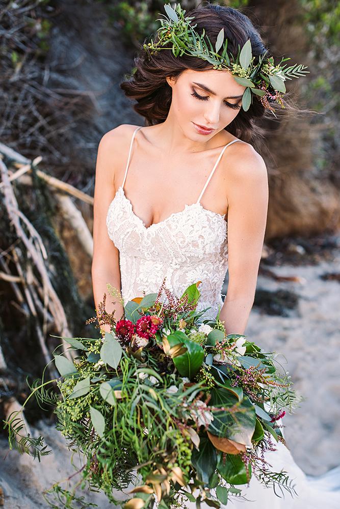 Galia Lahav bohemian glam bridal makeup and hair luxury glowing by Agne Skarina Beauty Affair LA photographer Tomas Skaringa.jpg