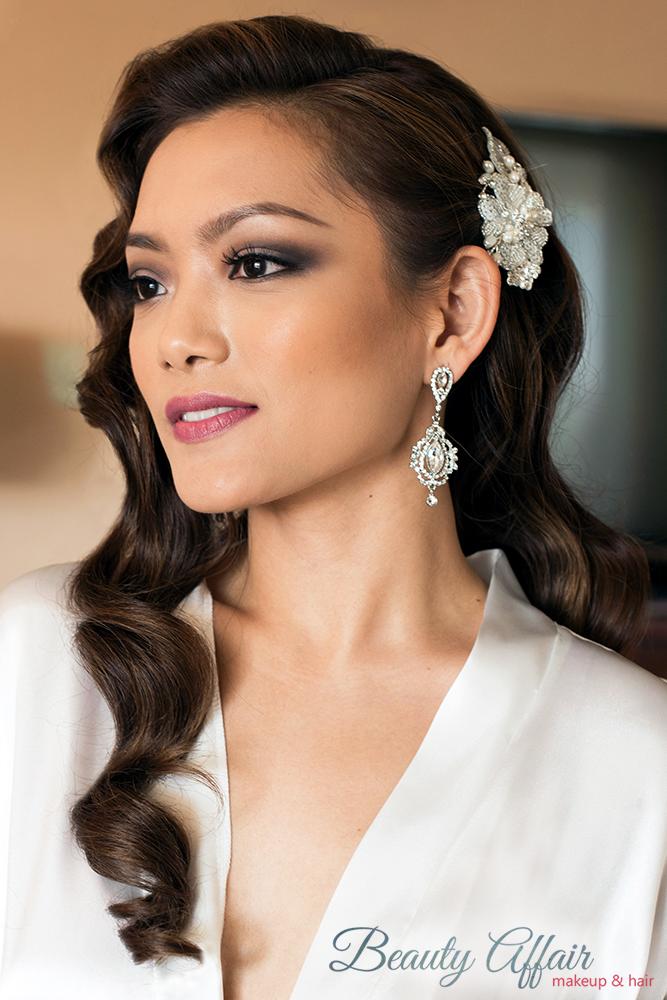 Los Angeles hairstylist hollywood glam wave hair down Beauty Affair Agne Skaringa_22.jpg
