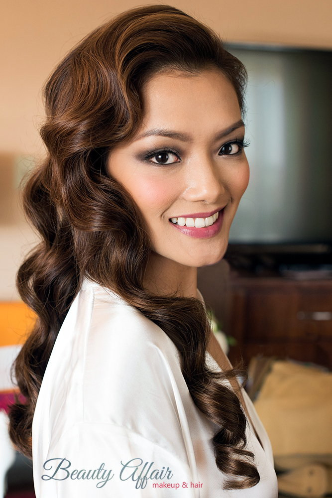 Los Angeles hairstylist hollywood glam wave hair down Beauty Affair Agne Skaringa_25.jpg