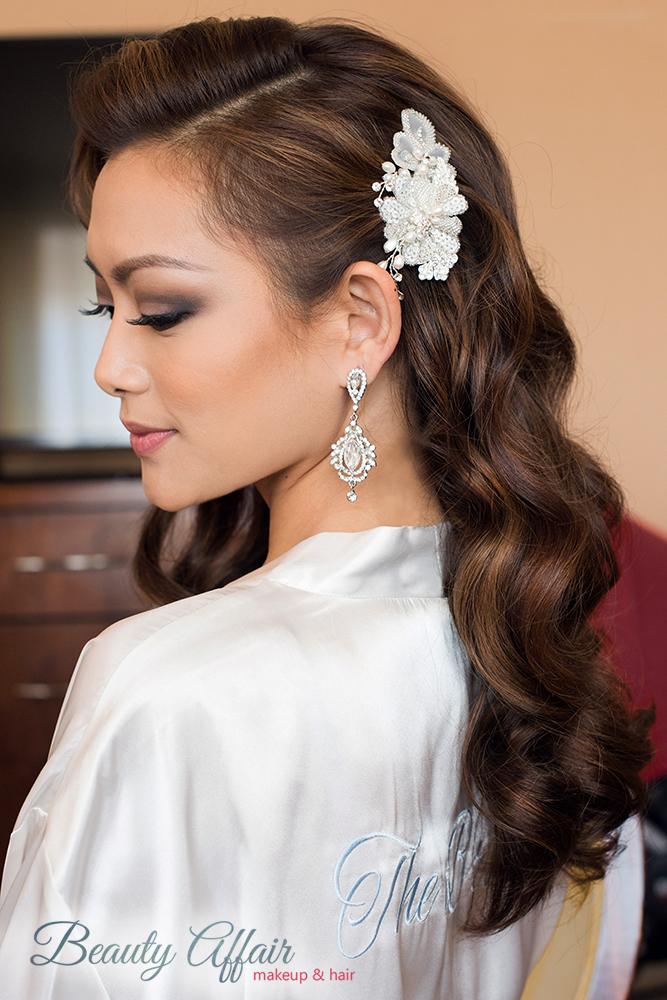 Los Angeles hairstylist hollywood glam wave hair down Beauty Affair Agne Skaringa.jpg
