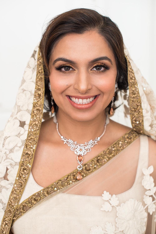 Indian bridal makeup gold glitter bronze by Beauty Affair Agne Skaringa copy.jpg