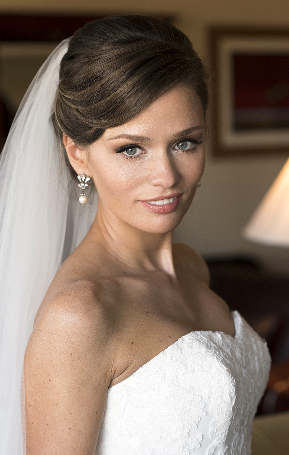 Bridal makeup updo blue eyes brunette by Agne Skaringa Beauty Affair and A.jpg