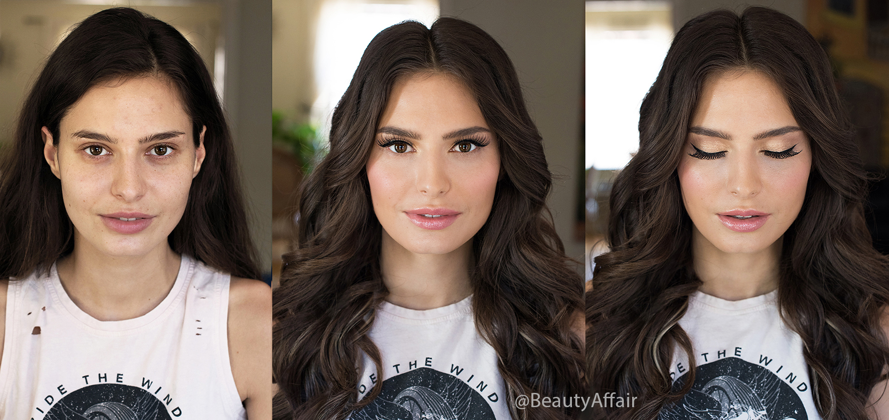 airbrush before and after Temptu Makeup and waves glam hair bronze goddess straight hair Beauty Affair-Recovered copy copy.jpg