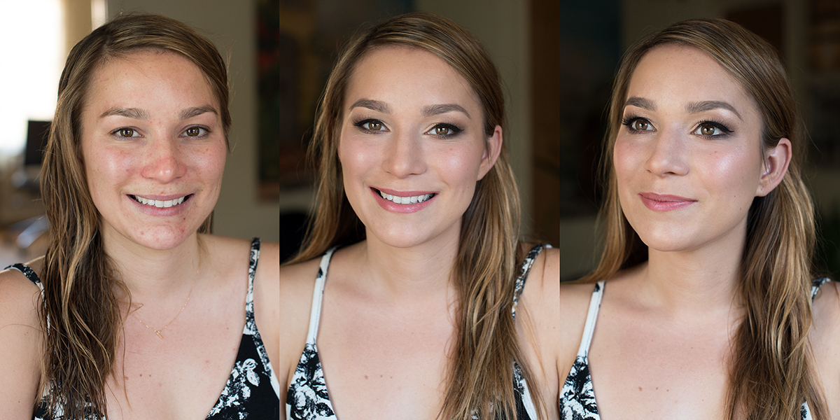 Beauty Affair  Makeup glowing skin before and after copy.jpg