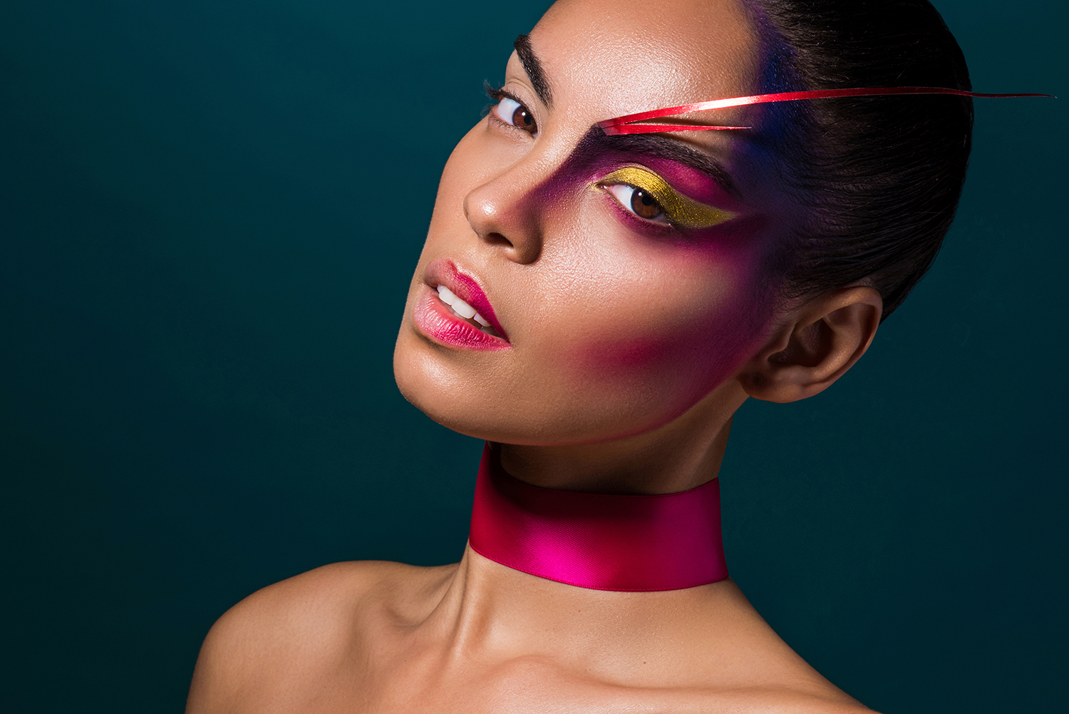 High fashion makeup body art by Agne Skaringa 5.jpg