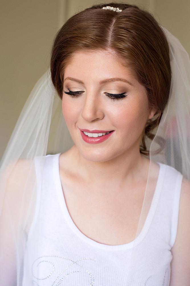 Bridal makeup and hair readhead green eyes by Beauty Affair.jpg
