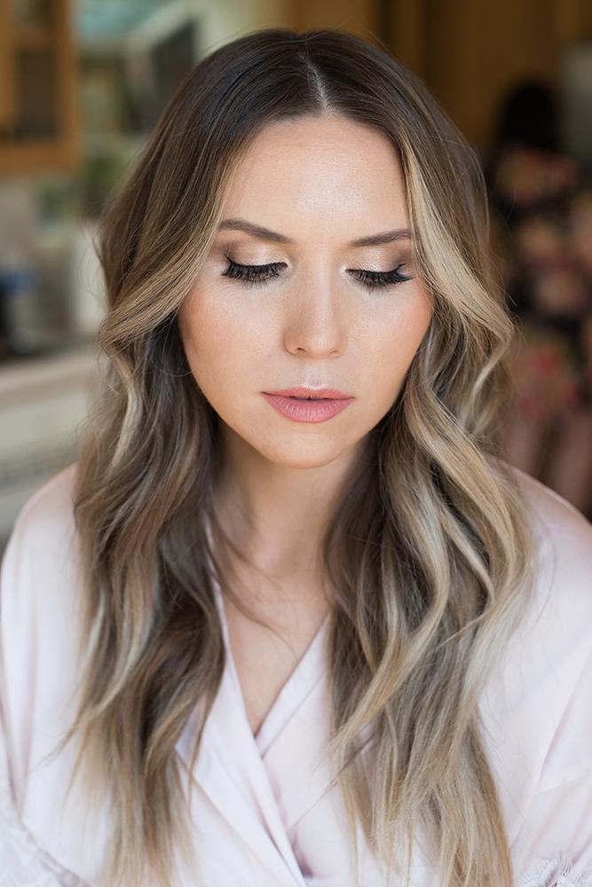 Bridal shimmer natural glowing makeup blue eyes and hair long wavy by Beauty Affair_4.jpg