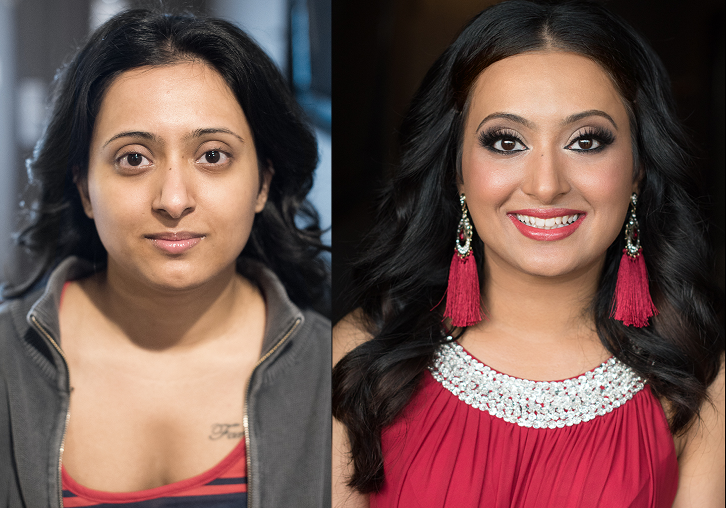 Natural airbrush makeup and hair indian bride south east easian beauty affair before after.jpg