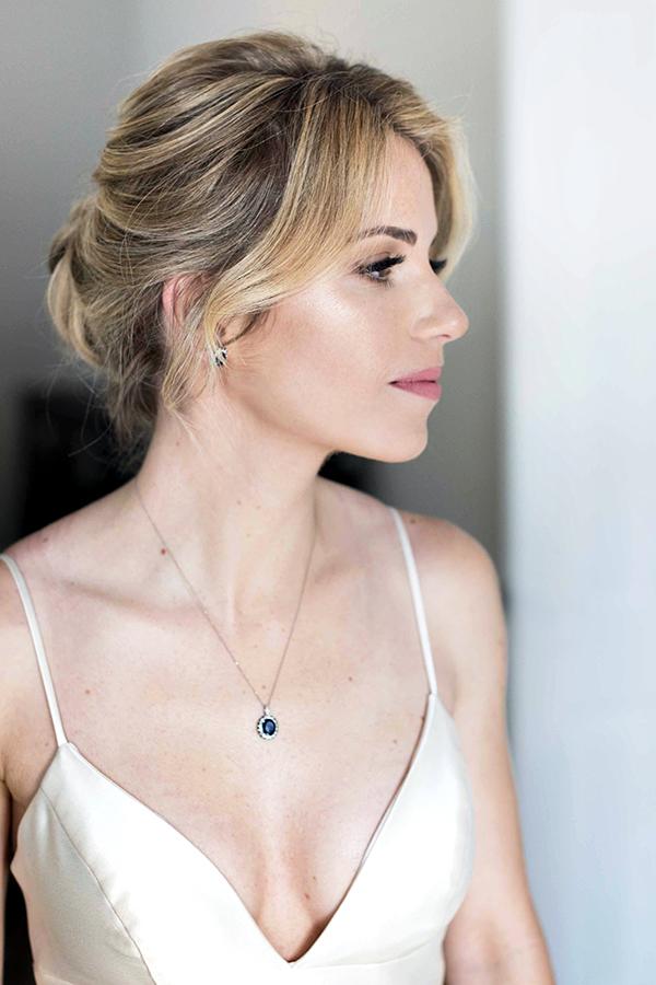 LA Los Angeles Bridal wedding makeup and hair updo blonde simple classy elegant Beauty Affair_6.JPG