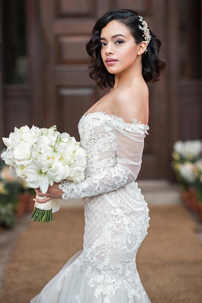 Bridal glam beauty mauve wavy Beauty Affair.jpg