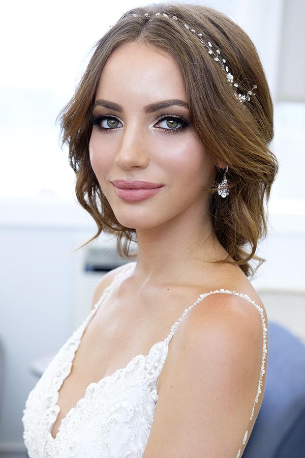 glowing nude lips makeup smokey eyes Bridal hair braid by beauty Affair.jpg