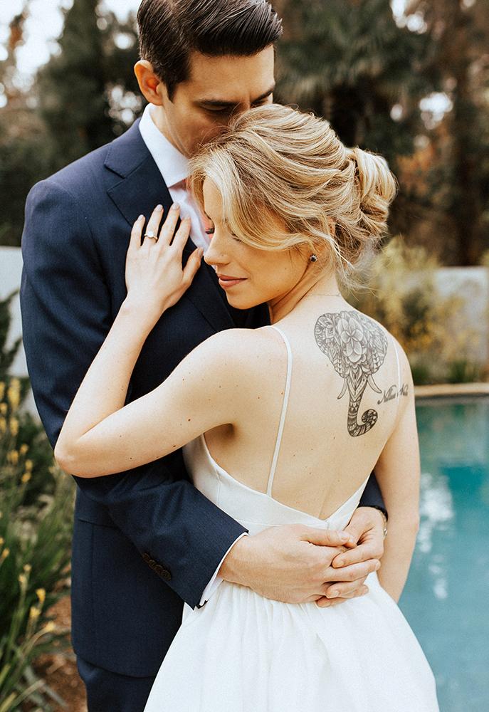 Bridal updo romantic los angeles beauty affair blond.jpg