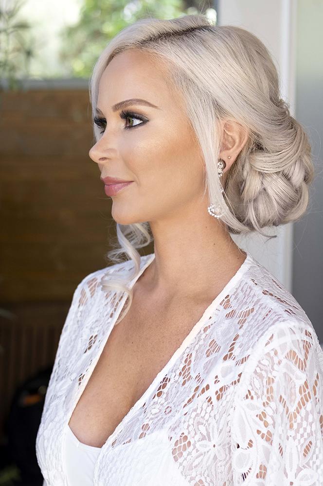 m LA Los Angeles updo glam Bridal wedding makeup and hair updo blonde simple classy elegant Beauty Affair_18.jpg
