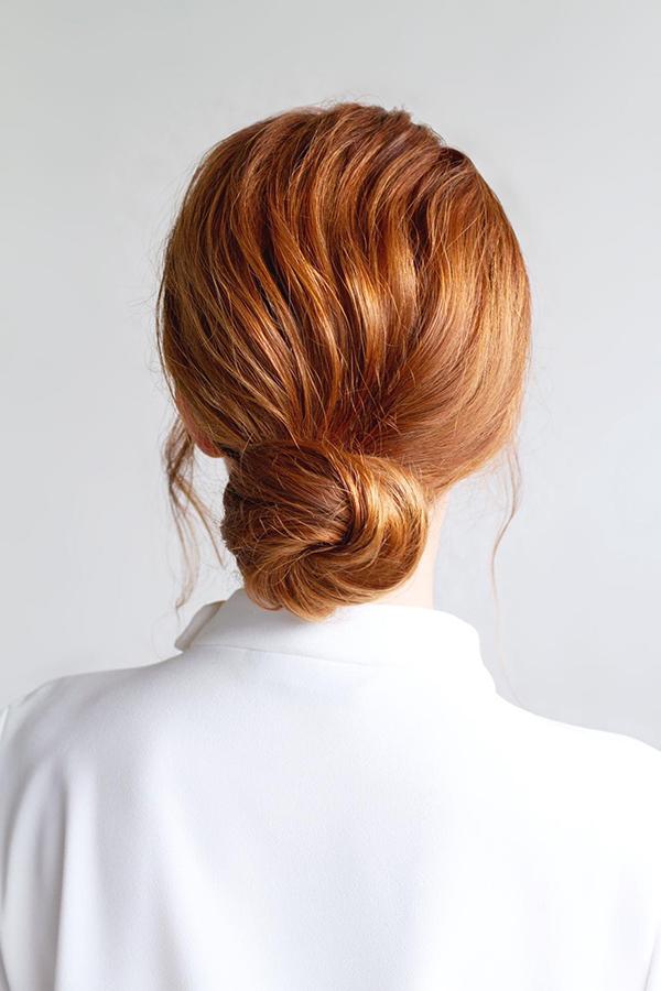 elegant bridal hair bun low beauty affair kalina.jpg