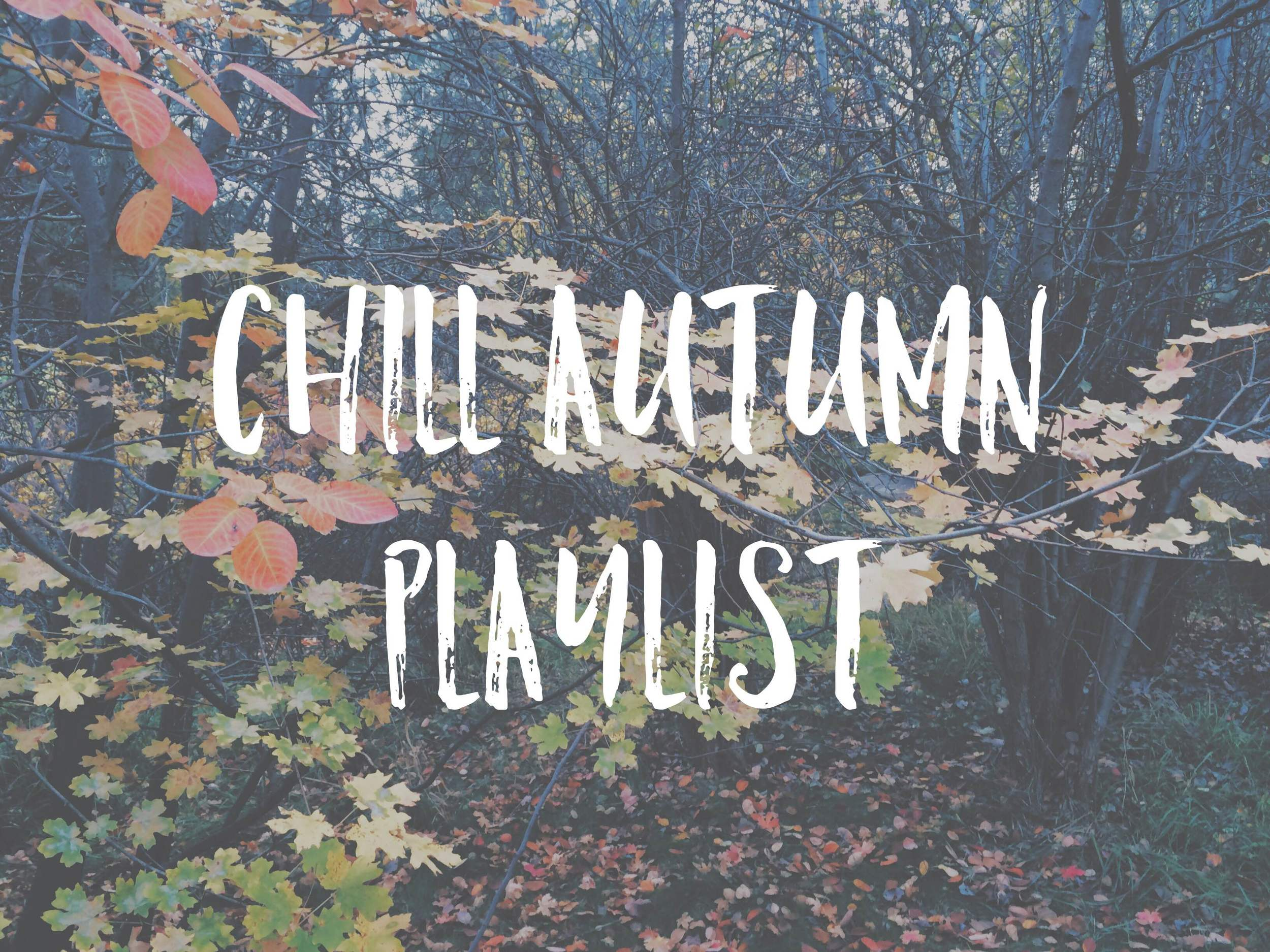 A chill autumn playlist: some roots, some jazz, some indie rock.