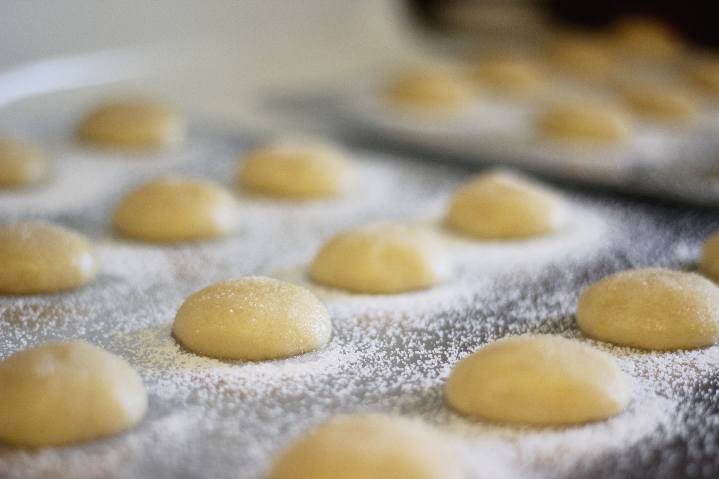 These sugar cookies are pillowy and dense, and (huge bonus) incredibly easy to make. Via emilyfisk.com.