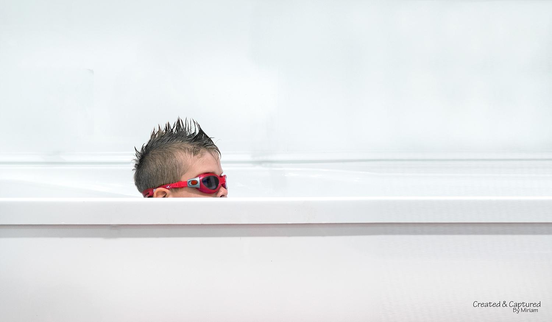 Googles In The Bath