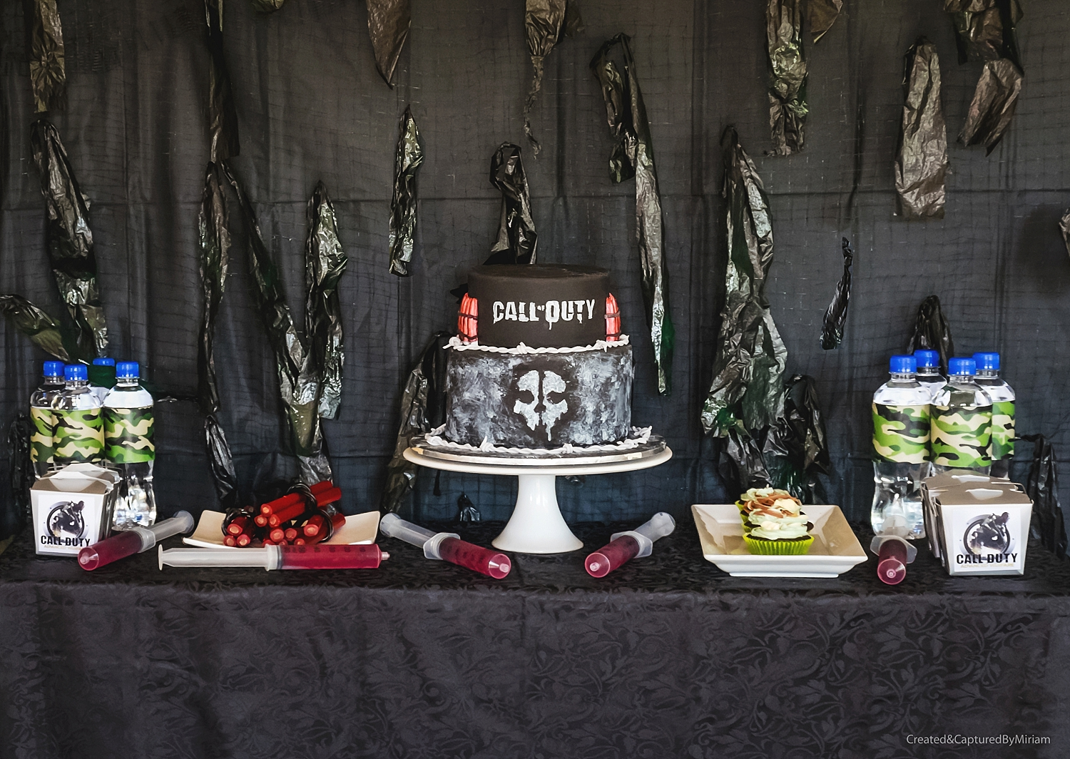 Call of Duty Dessert Table