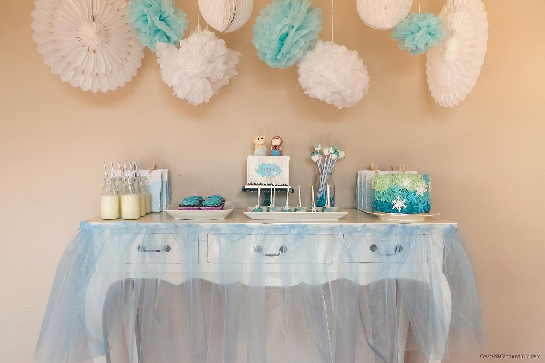 Frozen Dessert Table