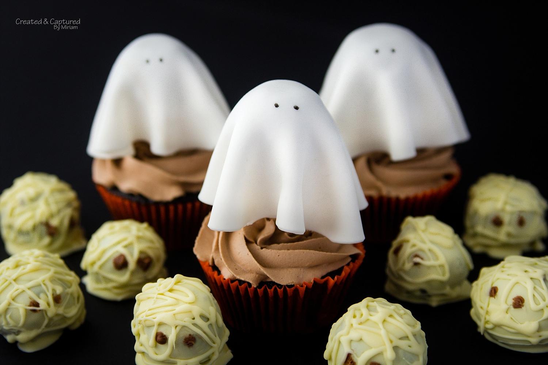 Halloween Cakepop Cupcakes