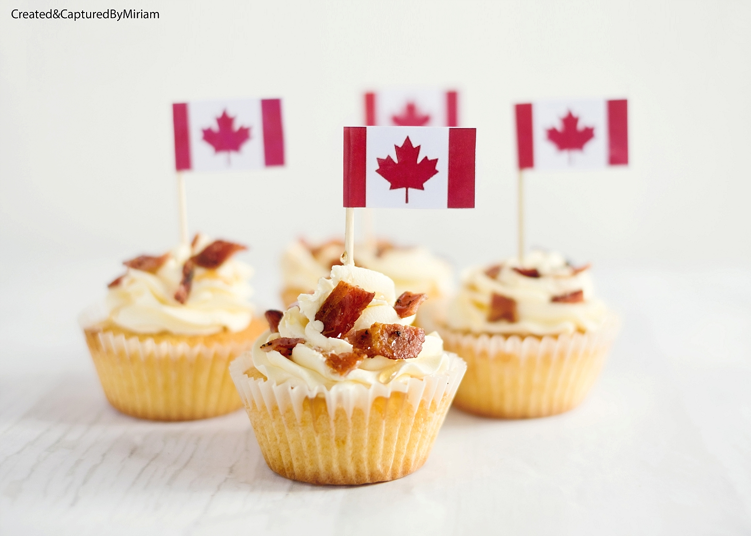 Bacon & Maple Syrup Cupcakes