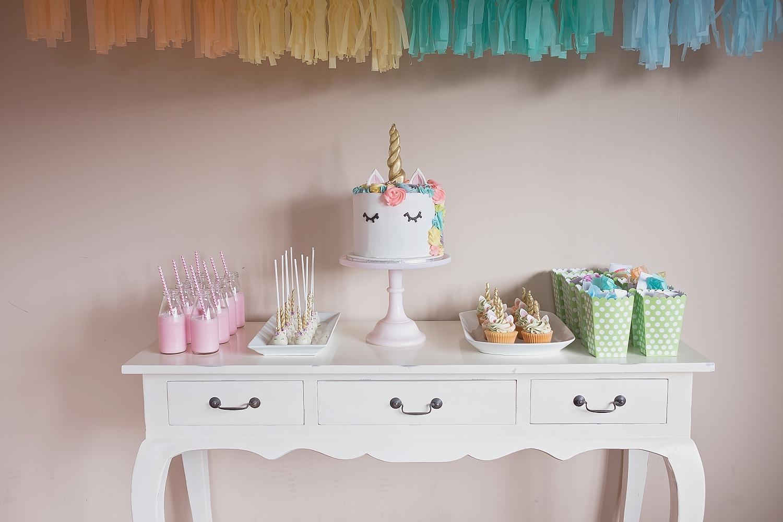Unicorn Dessert Table
