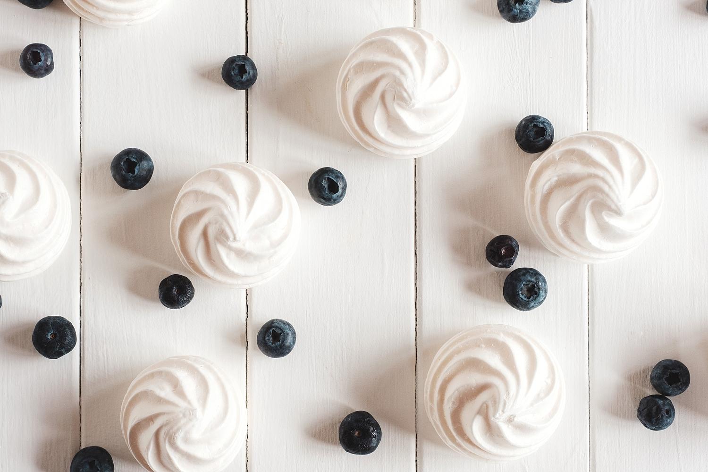 Blueberries and Meringues