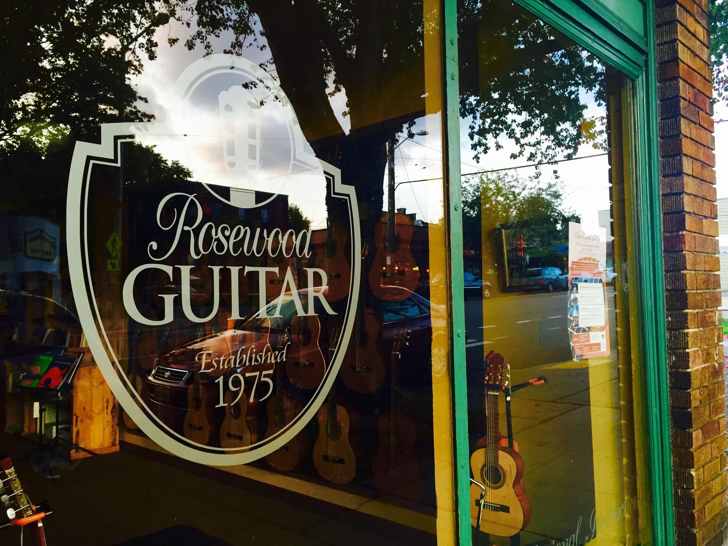 Rosewood Guitar