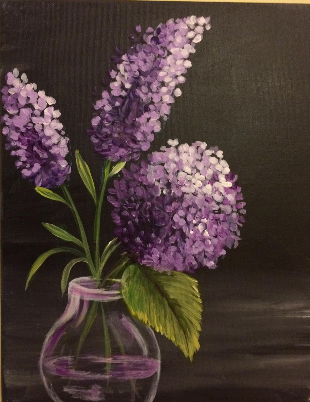 Purple passion.. lilacs & hydrangea