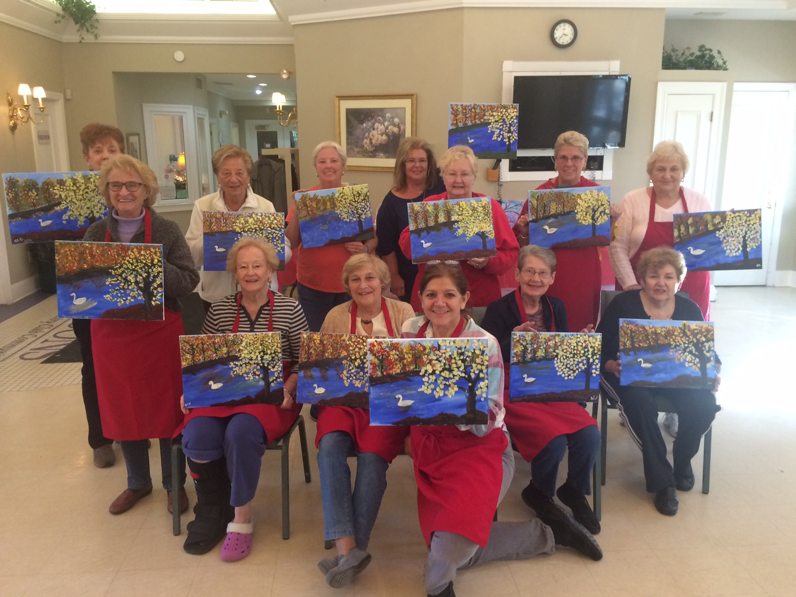 four seasons painting party 1.JPG