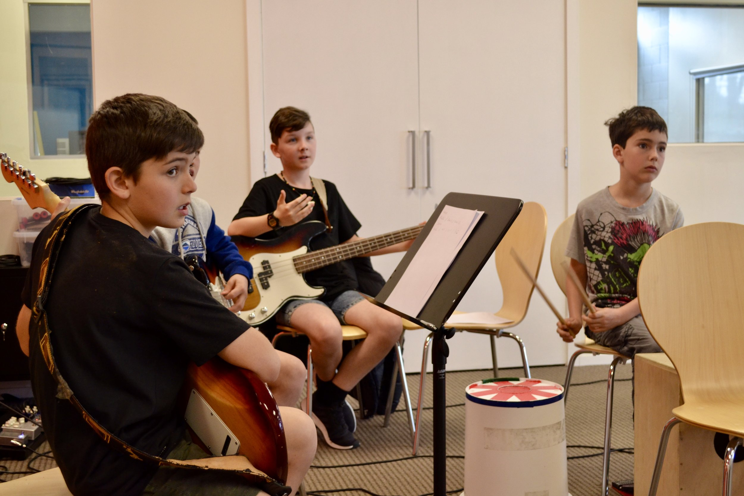 Band Workshop Holiday Programme