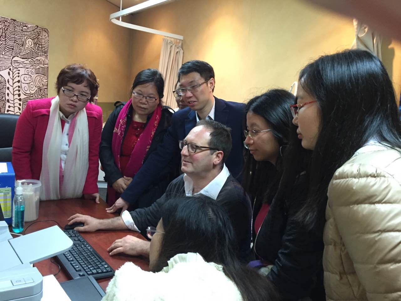 Chinese Doctors in Training Program in Melbourne