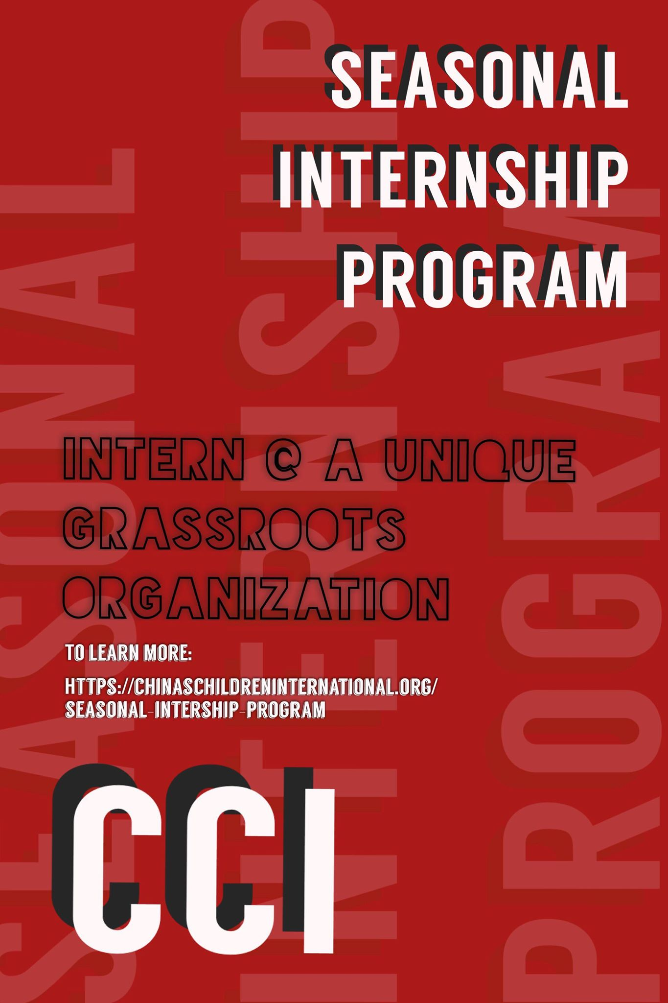 Summer 2019 internship - Gain transferable professional skills, give back to the Chinese adoption community, and shape the Chinese adoptee space that you want to see…
