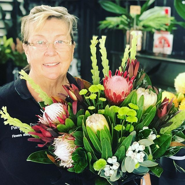 Beautiful native arrangement ready for early delivery #goldcoastflorist #goldcoastflowers #flowers #florist #paradisepointflowers #paradisepointflorist