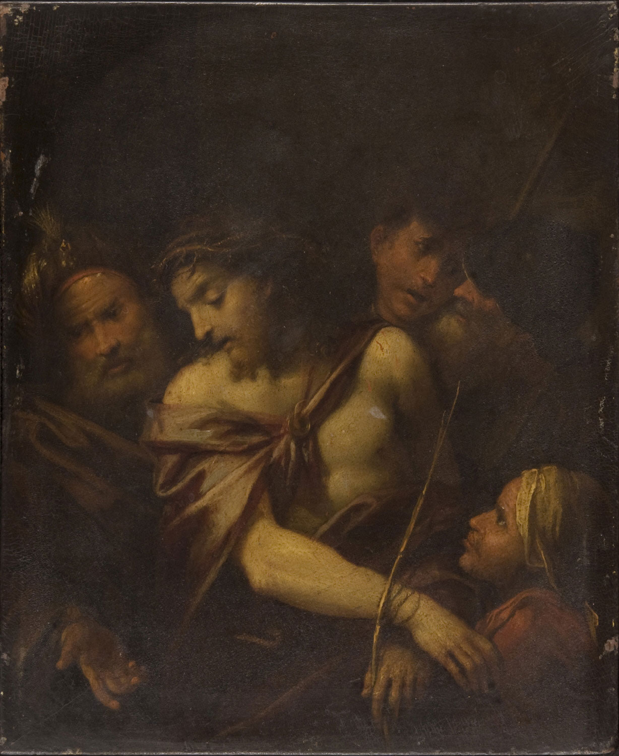 The Mocking of Christ  , date unknown, Artist Unknown, French from the  Philadelphia Museum of Art