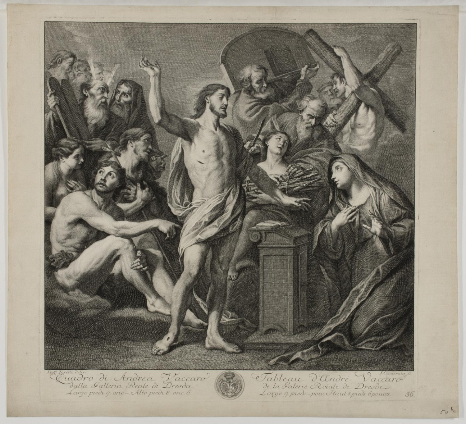 The Old and New Testament  , Before 1757, by Giuseppe Camerata II, Italian from the  Philadelphia Museum of Art