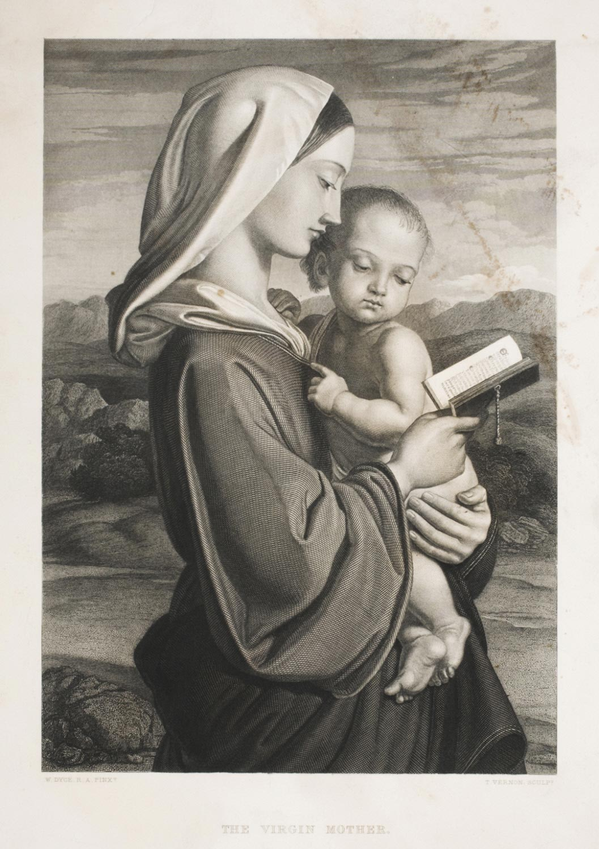 The Virgin Mother  , 1854-1855, Thomas Vernon, English,from  the Philadelphia Museum of Art
