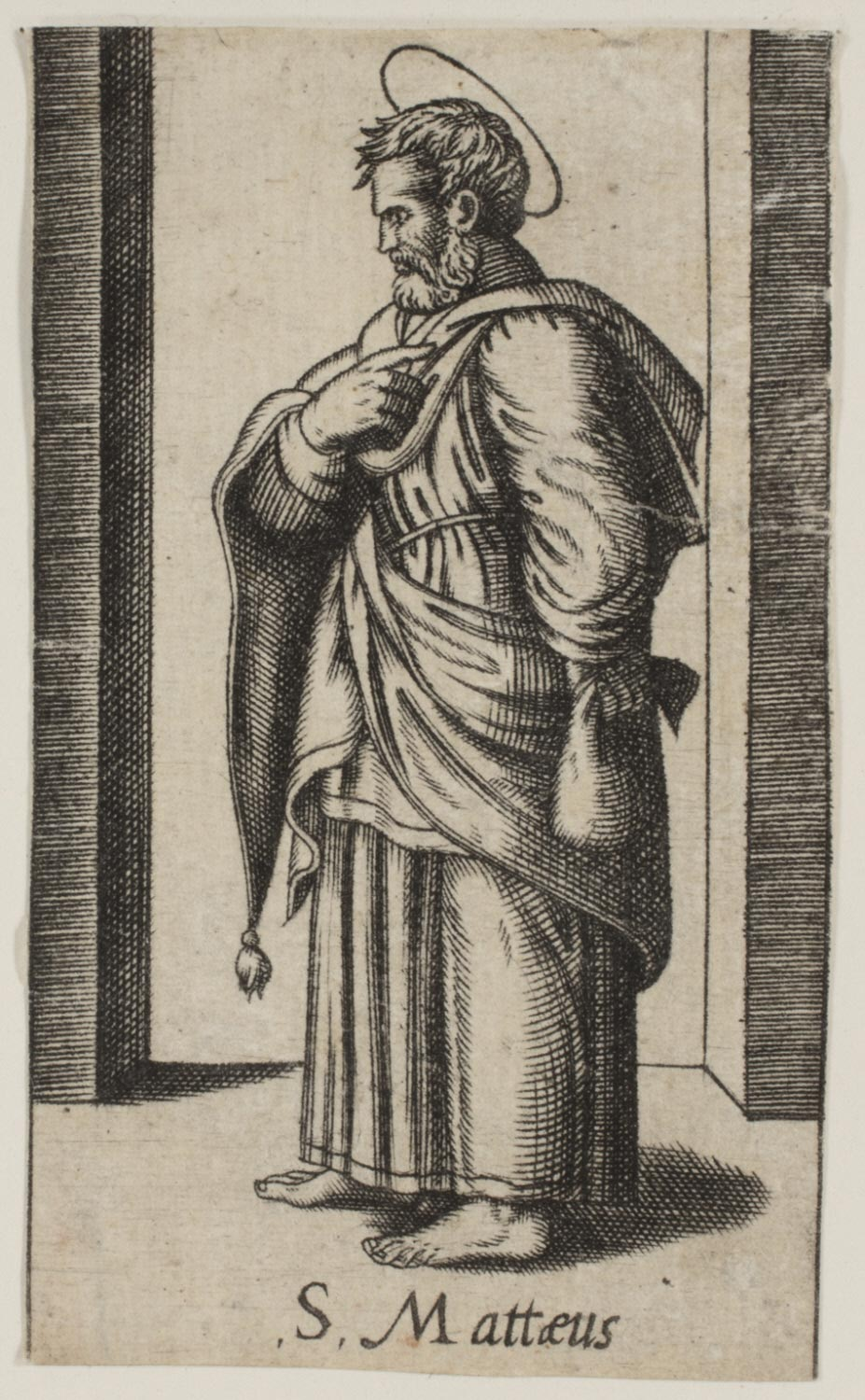 S. Matthew  , 16th Century, by Artist Unknown, Italy from the  Philadelphia Museum of Art