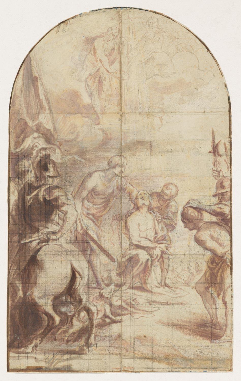 The Martyrdom of St. James the Less  , 1659, by Johann Boeckhorst, Flemish from the  Philadelphia Museum of Art