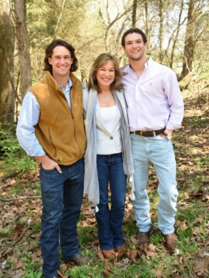 My inspiration for Smiles From Home!  My sons, Michael and Will Dunn
