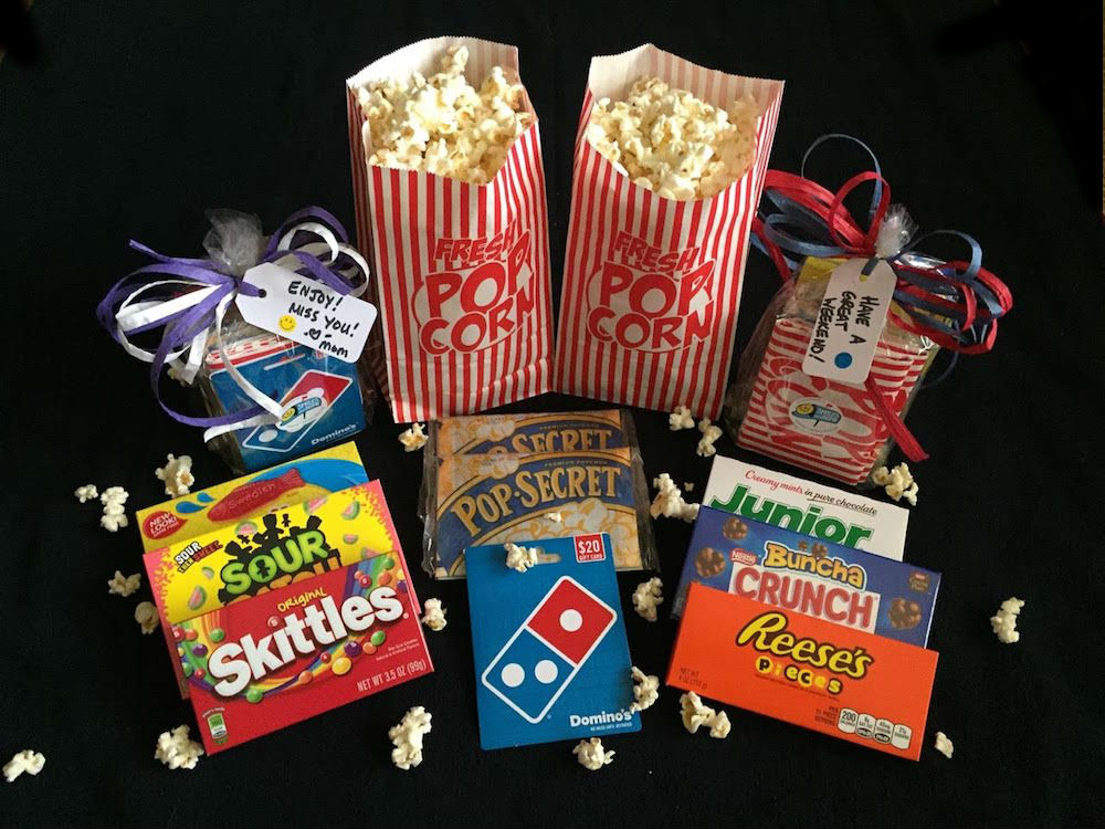Movie Night Care Package - from $15