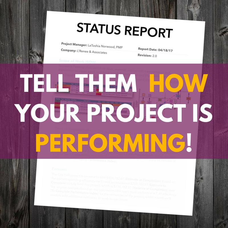 L'Renee & Associates - Project Status Report Template.png