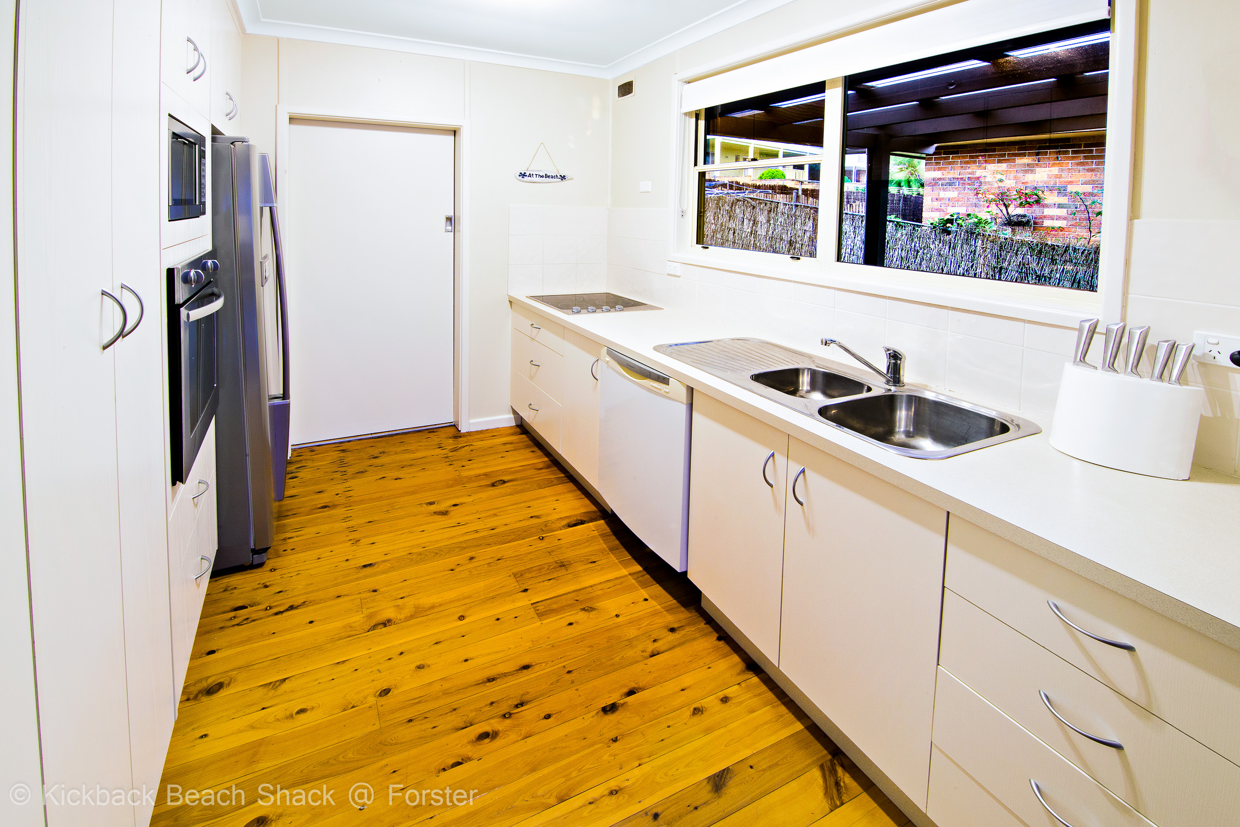 Forster-Accommodation-and-Pet-Friendly-Holiday-House-NSW-kitchen-is-ready