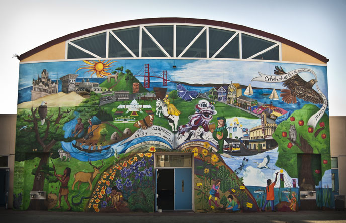 Celebrating Our Richmond- Past and Present Mural Project