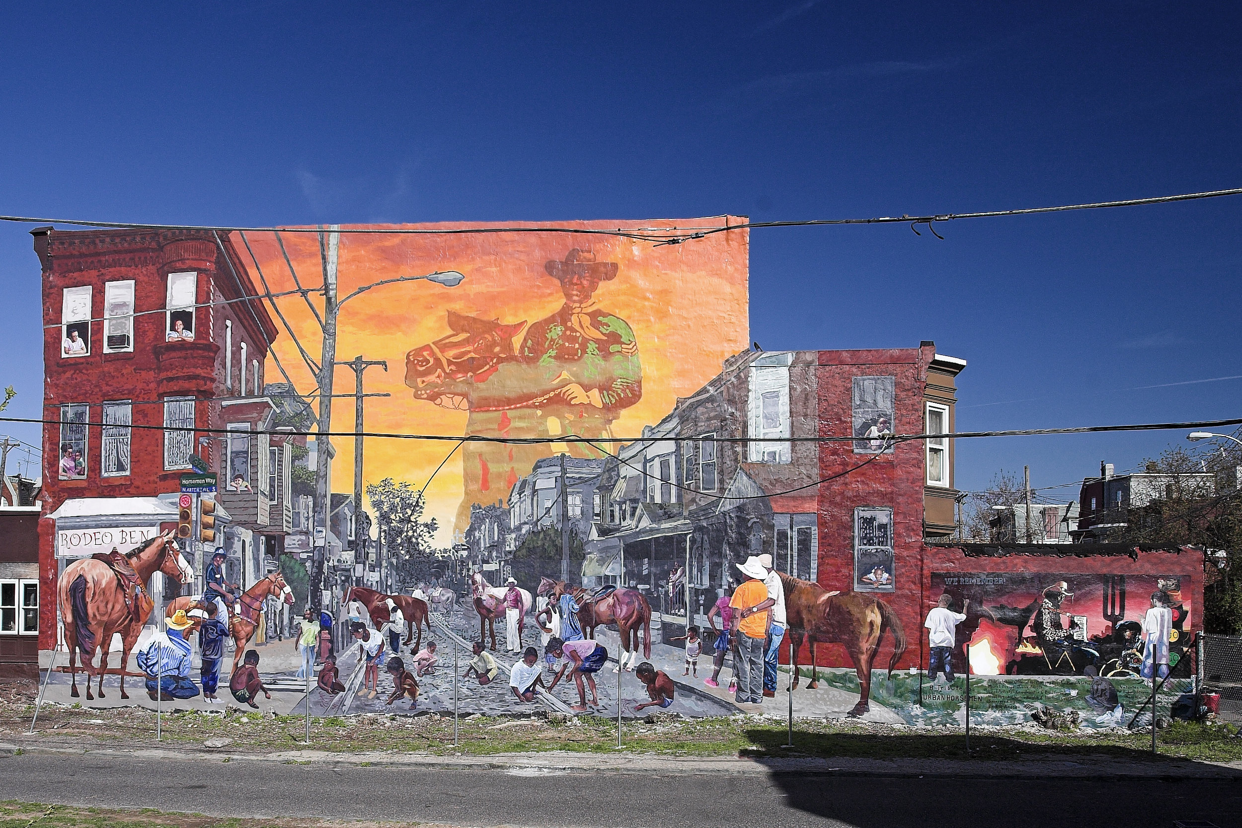 A Tribute to Urban Horseman Mural Project