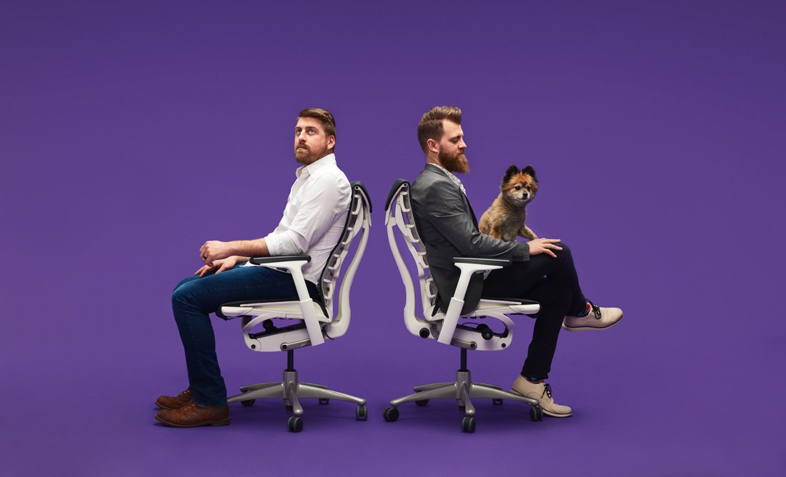 Photo courtesy Starboard & Port Starboard & Port's 3,400-square-foot studio in downtown houses almost every kind of chair under the sun. Owners Chase Heilman and George Ferris decided to invest in Herman Miller Embody Chairs after visiting the Grooms office for a photoshoot.